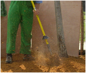 Air spade for Utility of soil